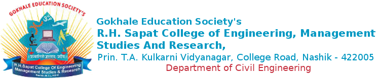 R. H. Sapat College Of Engineering, Management Studies And Research | Civil Engg.